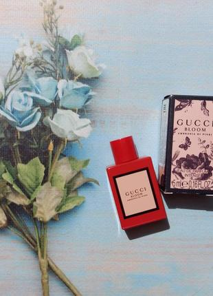 Миниатюра gucci bloom ambrosia di fiori