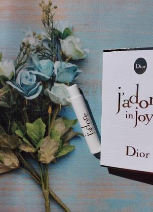 Пробник christian dior j`adore in joy