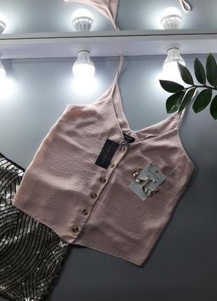 Топ | майка | футболка | розовая майка | майка на бретельках | розовый топ