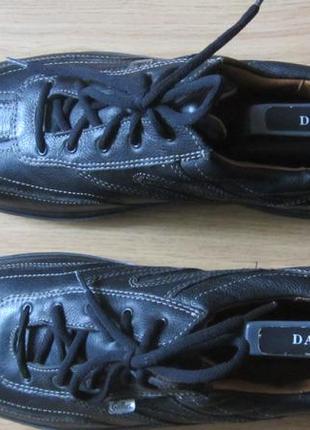 Мужские новые кожаные туфли  gallus 46,5 р.