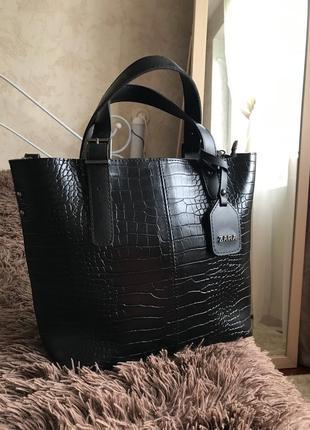 Вместительная сумка шоппер (новая!)