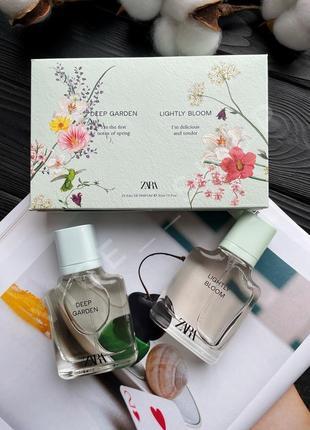 Zara deep garden lightly bloom духи парфюм парфюмерия туалетная вода оригинал испания
