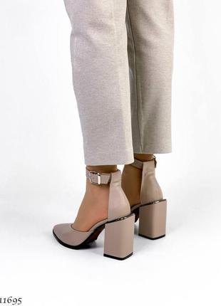 Туфли босоножки натуральная замша кожа6 фото