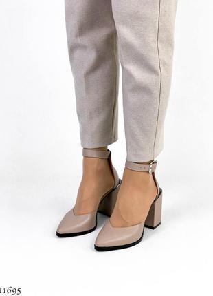 Туфли босоножки натуральная замша кожа8 фото
