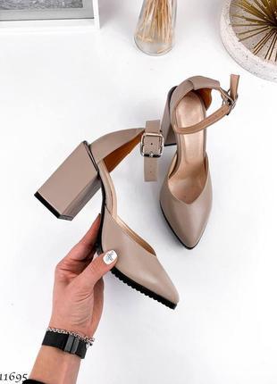 Туфли босоножки натуральная замша кожа9 фото