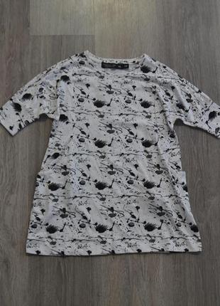 Новое платье-туника с карманами ф. lager157 бангладеш р. 5 лет 110 см