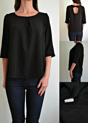 Легкая блуза с красивой спинкой