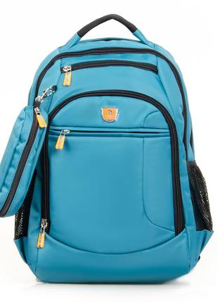 Рюкзак женский городской, спортивный, дорожный с плотной спинкой.