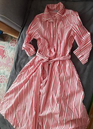 H&m р.40,платье котон 100%