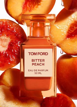 Bitter peach пробник парфюма и дубая,духи персик1 фото