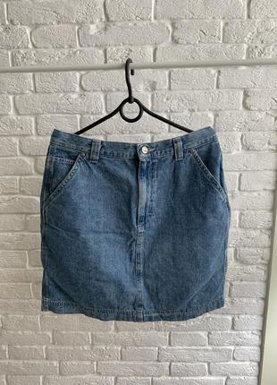 Джинсова спідниця юбка джинсовая