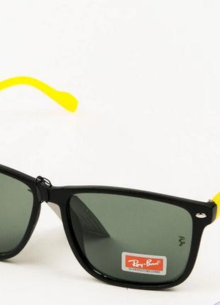 Очки.солнцезащитные очки ray-ban wayfarer со стеклянной линзой