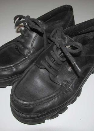 Ботинки kickers кожаные, 23,5 см