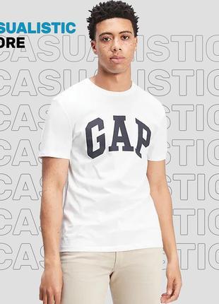 Футболка gap logo tee