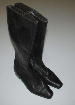 Сапоги кожаные caprice gmbh, 26,5 см