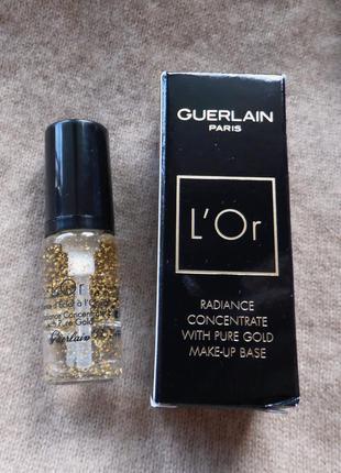 Люкс! основа (база) под макияж с частицами золота guerlain