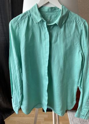 Очень красивая рубашка лён шикарного цвета 😍