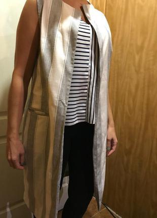 Удлиненный пиджак/жакет new look
