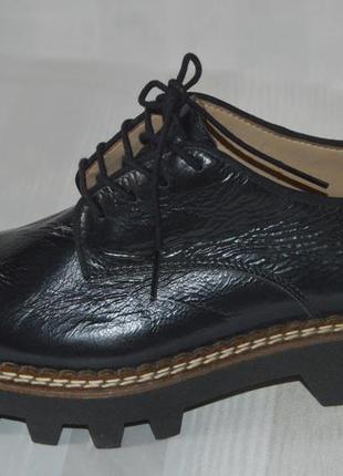 Бреднові туфлі лофери броги шкіра aldo розмір 39 38, туфлі кожа
