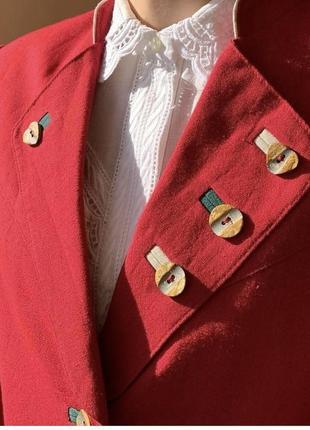 Льняной винтажный пиджак4 фото