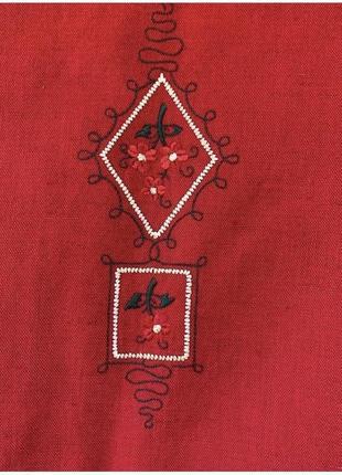 Льняной винтажный пиджак5 фото