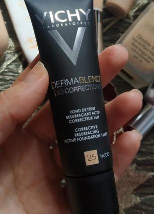 Тональный крем dermablend 3d correction от vichy