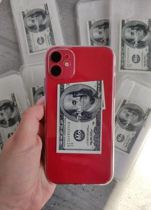 Чехол на iphone доллар