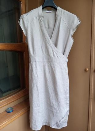 100%лен платье orsay