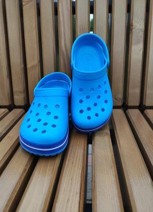 Must have🔥женские голубые кроксы, сабо, шлепки