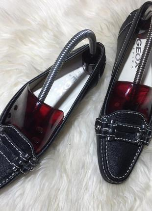 Туфли geox patent. оригинал !!