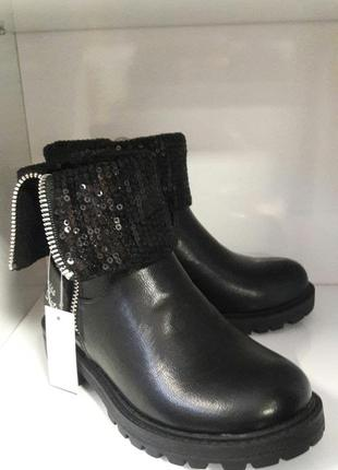 Ботинки на девочку miss sixty