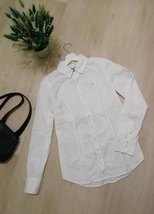 Белая рубашка marc o'polo