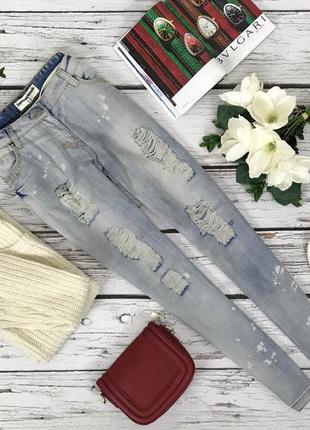Молодежные джинсы internacionale с вошингом pn4236