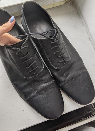 Туфлі чоловочі, чорні