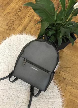Городской рюкзачок рюкзак женский сумка сумочка италия 🇮🇹 бренд pierre cardin