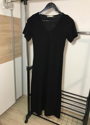 Миди платье pull&bear
