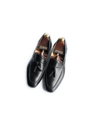 Лоферы туфли hudson англия кожаные на лето