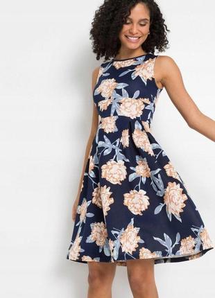 Великолепное, фирменное, качественное платье. bonprix р-р: 40евро