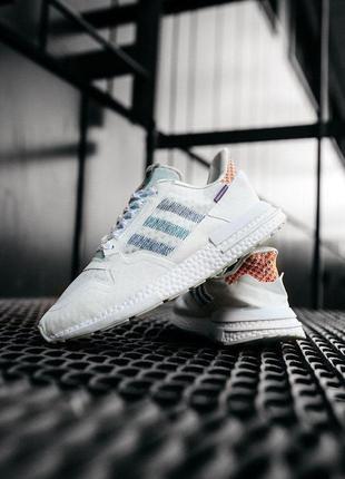 Женские кроссовки adidas zx 500 white 36-37-38-39-40-41