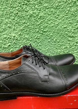 Туфли мужские кожаные размер 43