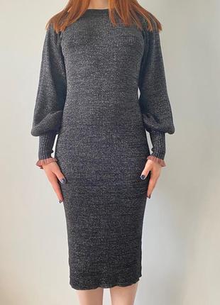 Платье теплое levete new