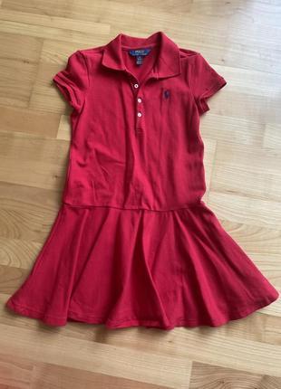 Детское платье polo
