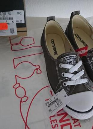 Балетки converse all star ballet lace charcoal