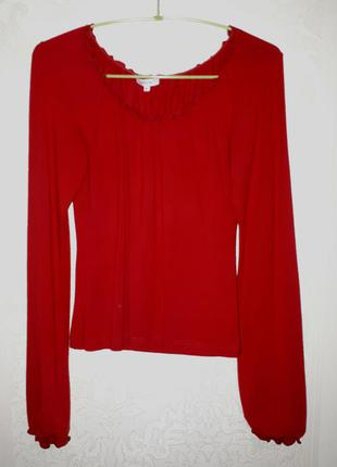 Красная кофточка (блуза) atlantic (m)
