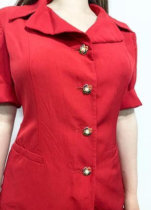 Шелковая блуза пиджак винтаж