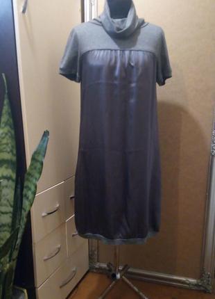 Платье шёлк-вискоза peserico