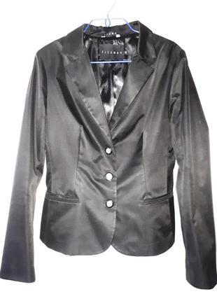 Черный классический пиджак (жакет) frizman (46)