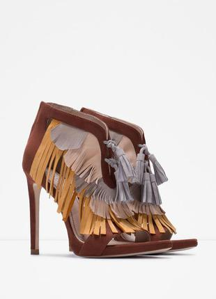 Босоножки туфли zara, 37