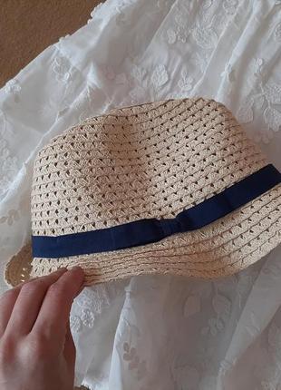 Шляпа пляжная панама