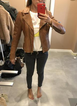 Кожаная куртка koranzo